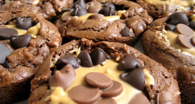 cookie-peanut-brownie-cup